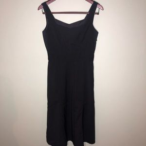 J crew Little Black Dress 4 Midi